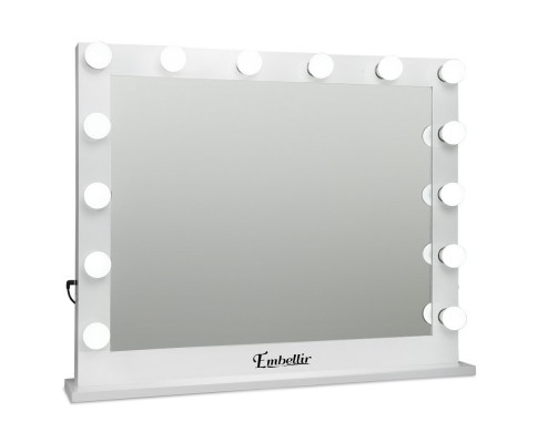 Make Up Cosmetics Mirror 14 Led Bulbs Adjustable Dimmer