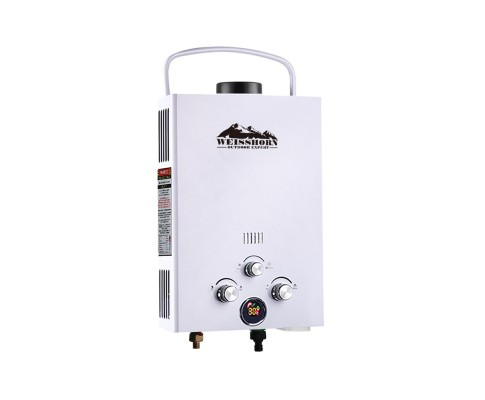 camping outdoor gas water heater shower washing adjustable temperature ideal safety variety store. Black Bedroom Furniture Sets. Home Design Ideas